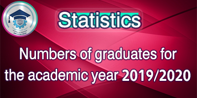 Numbers of graduates for the academic year 2019/2020