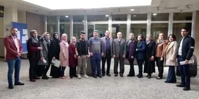 زيارة اللجنة الامتحانية في قسمي هندسة العمارة وتكنولوجيا النفط